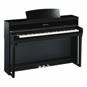 Yamaha CLP-675 Polished Ebony