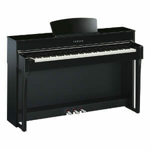Yamaha CLP-635 Polished Ebony