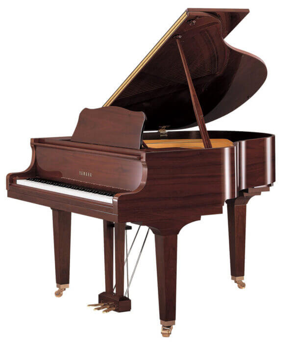 GB1K Grand Piano Polished American Walnut