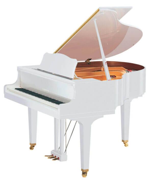 White Grand Piano GB1K