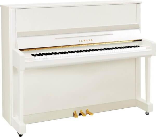 b3 Yamaha Polished White Piano