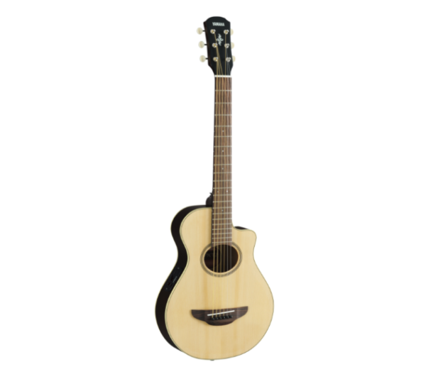 Natural finish acoustic guitar quebec
