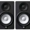 Yamaha HS5 MP Powered Studio Monitors 50th Anniversary Special Edition Matched Pair, Black